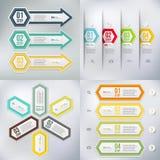 Современный элемент infographics Стоковое Изображение
