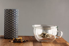 Современный японский чай делая комплект Стоковые Изображения