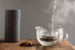 Современный японский чай делая комплект Стоковое Фото