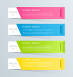 Современный inforgraphic шаблон Смогите быть использовано для знамен, шаблонов вебсайта и дизайны, infographic плакаты, брошюры,  Стоковая Фотография RF