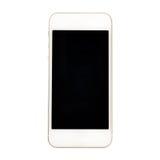 Современный smartphone экрана касания изолированный на белой предпосылке Стоковая Фотография