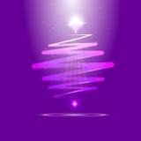 Современный whirligig цвета, на абстрактной предпосылке Стоковое Фото