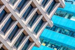 2 современных большого административного здания Стоковое Фото
