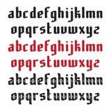 3 современных готических шрифта Стоковая Фотография