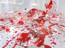 совсем красный цвет Стоковое Фото