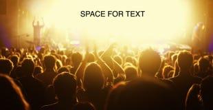 согласие аудитории в реальном маштабе времени Стоковые Фото