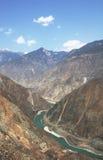 согните первое реку yangtze Стоковые Изображения