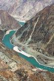 согните первое реку yangtze Стоковая Фотография