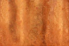 Согнутая медная текстура Стоковые Фото