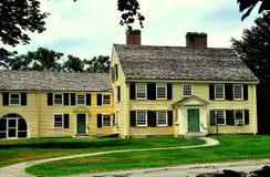 Согласие, МАМЫ: Дом 1715 главный Джон Buttrick стоковое изображение