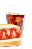 сода собаки горячая Стоковое Фото