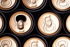сода чонсервных банк пива Стоковая Фотография