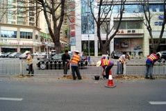 содержание автомобильной дороги shenzhen чистки фарфора Стоковые Изображения