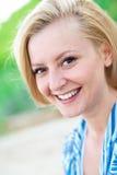 Содружественная улыбка стоковое фото