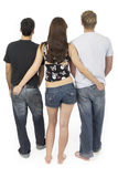 содружественные threesome 2 Стоковое Фото