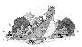 Содружественный дракон Стоковые Изображения RF