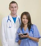 содружественный персонал больницы Стоковое фото RF