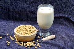 Соевое молоко Стоковая Фотография