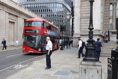 Соединение банка, Лондон Стоковые Фото