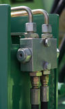 соединение гидровлическое Стоковые Фото
