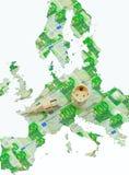 соединение европы энергии Стоковое Изображение RF