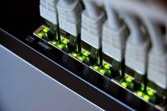 соединение локальных сетей гигабита Стоковые Фотографии RF