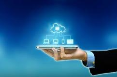 Соединение платформы облака интернета multi стоковые фотографии rf