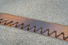 Соединение расширения или движения на мосте Стоковая Фотография RF
