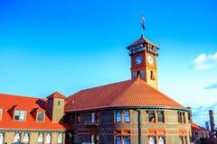 соединение станции Орегона portland стоковое изображение rf