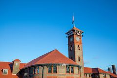 соединение станции Орегона portland стоковая фотография rf