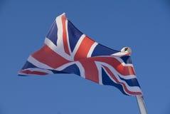 соединение флага Британии большое Стоковая Фотография