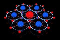 соединения иллюстрация вектора