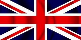 соединенное королевство флага Стоковые Фото