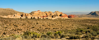 соединенное положение утеса Невады каньона красное Стоковое Изображение RF