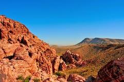 соединенное положение утеса Невады каньона красное Стоковые Изображения RF