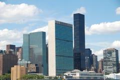 соединенное nyc наций здания Стоковая Фотография RF
