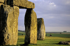соединенное stonehenge королевства стоковые фото