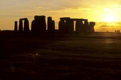 соединенное stonehenge королевства стоковое изображение