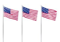 соединенные государства флага америки Стоковое Фото