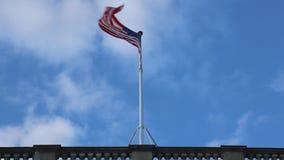 соединенные государства флага видеоматериал