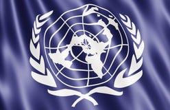 соединенные нации флага Стоковая Фотография