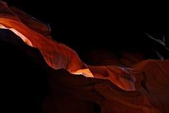 соединенные положения каньона антилопы Стоковое Изображение