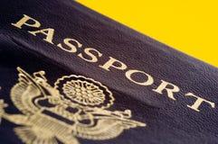 соединенные положения пасспорта стоковое фото rf