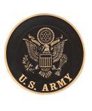 соединенные положения эмблемы армии стоковые фотографии rf