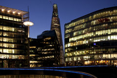соединенный горизонт london королевства Стоковые Изображения RF