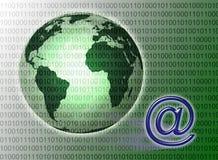 соединенный мир технологии Стоковое фото RF