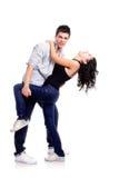 соедините детенышей танцы Стоковая Фотография RF