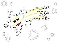 соедините многоточия иллюстрация вектора