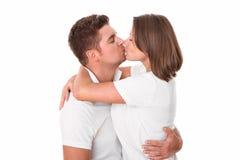 соедините целовать стоковые фото