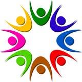 соединяет логос иллюстрация штока